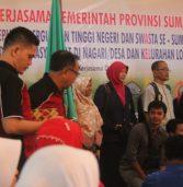 Gubernur Lepas Mahasiswa KKN-PPM Sumatera Barat