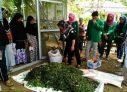 Mahasiswa KKN Berbagi Ilmu Cara Pembuatan Pupuk Kompos