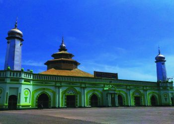 Kokoh: Masjid tertua di Kota Padang yang menjadi saksi sejarah.