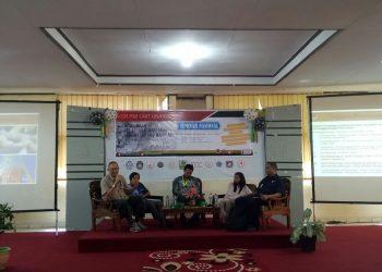 """Sedang berlangsung Seminar Nasional, """"Menjadi Relawan Kemanusiaan di Era Digital ini"""", Senin (20/11/2017)."""