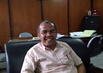 Dekan Fakultas Pertanian Munzir Busniah, Selasa (23/1/2018) (Foto: Uswatun Hasanah)