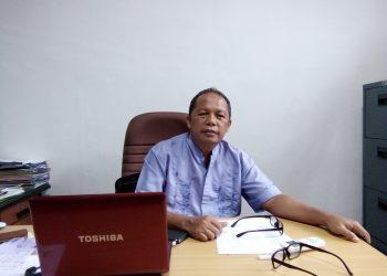 Kepala Pengelola Unit (PU-KKN), Syamsuardi saat ditemui di ruangannya, (Jumat. 29/6/2018).
