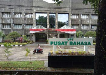 Gedung Pusat Bahasa, Unand. (Foto: Alfin Zernindo Prima)