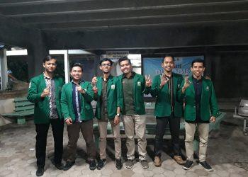 Tiga pasang calon presiden mahasiswa dan wakil presiden mahasiswa (capres dan cawapres) Badan Eksekutif Mahasiswa Keluarga Mahasiswa Universitas Andalas (BEM KM Unand).