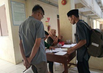 Registrasi Mahasiswa Baru 2019 Check In Asrama Unand, Kamis (16/06/2019)