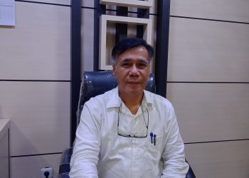 Wakil Rektor I Universitas Andalas Mansyurdin. (Genta Andalas/Suhada Tri Marneli)