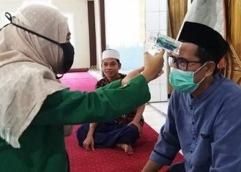 Thermo gun buatan Mahasiswa Jurusan Fisika Fakultas MIPA Universitas Andalas. (Genta Andalas/ist)